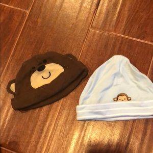 2️⃣ Carter's 3m Monkey Hats! 🐵